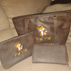 Thirty One City Chic Handbag Set